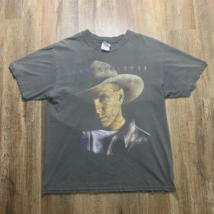 96' Vintage Garth Brooks Band tee front and back